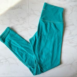 Echt   Aqua Blue Seamless Leggings